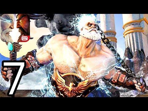 Gods Of Rome iPhone Gameplay Walkthrough Part 7 (Boss VULCAN & ZEUS)