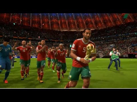 Maroc vs Allemagne - Finale Coupe du Monde 2018 Russie #07 FIFA 18