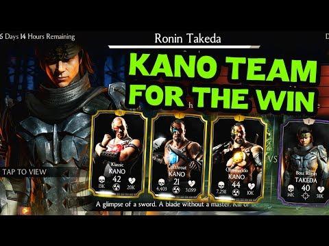 MKX Mobile. Ronin Takeda Challenge Review. Kanos Don't Suck! thumbnail