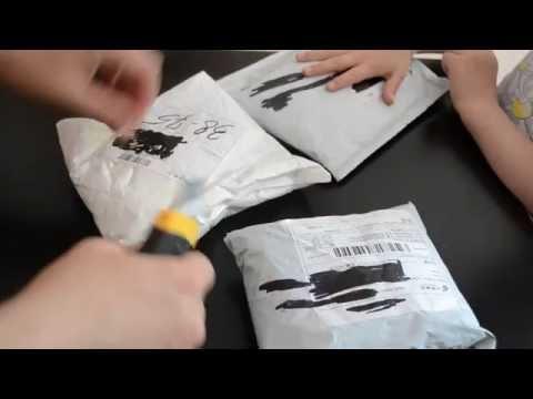 посылки с алиэкспресс видео 2016 рыбалка