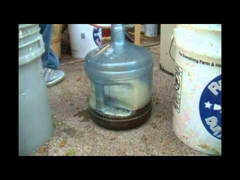 فيديو : طريقة صناعة خل التفاح في المنزل بإستخدام غسالة ملابس ! 3