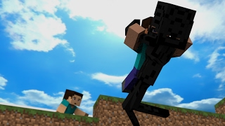 herobrine life story part 1 herobrine and steve minecraft animation