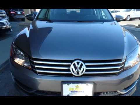 2012 Volkswagen Passat SE PZEV for sale in Burlington, NJ