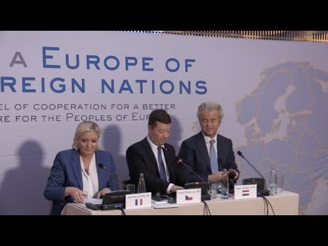 Líderes europeus da direita radical se reúnem em Praga