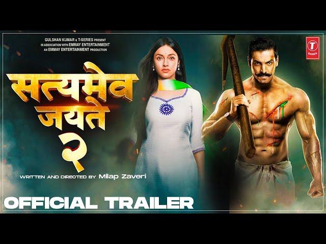 Satyamev Jayate 2 Official Trailer |John Abraham| Divya k| Milap Javeri| Bhushan |Concept Trailer