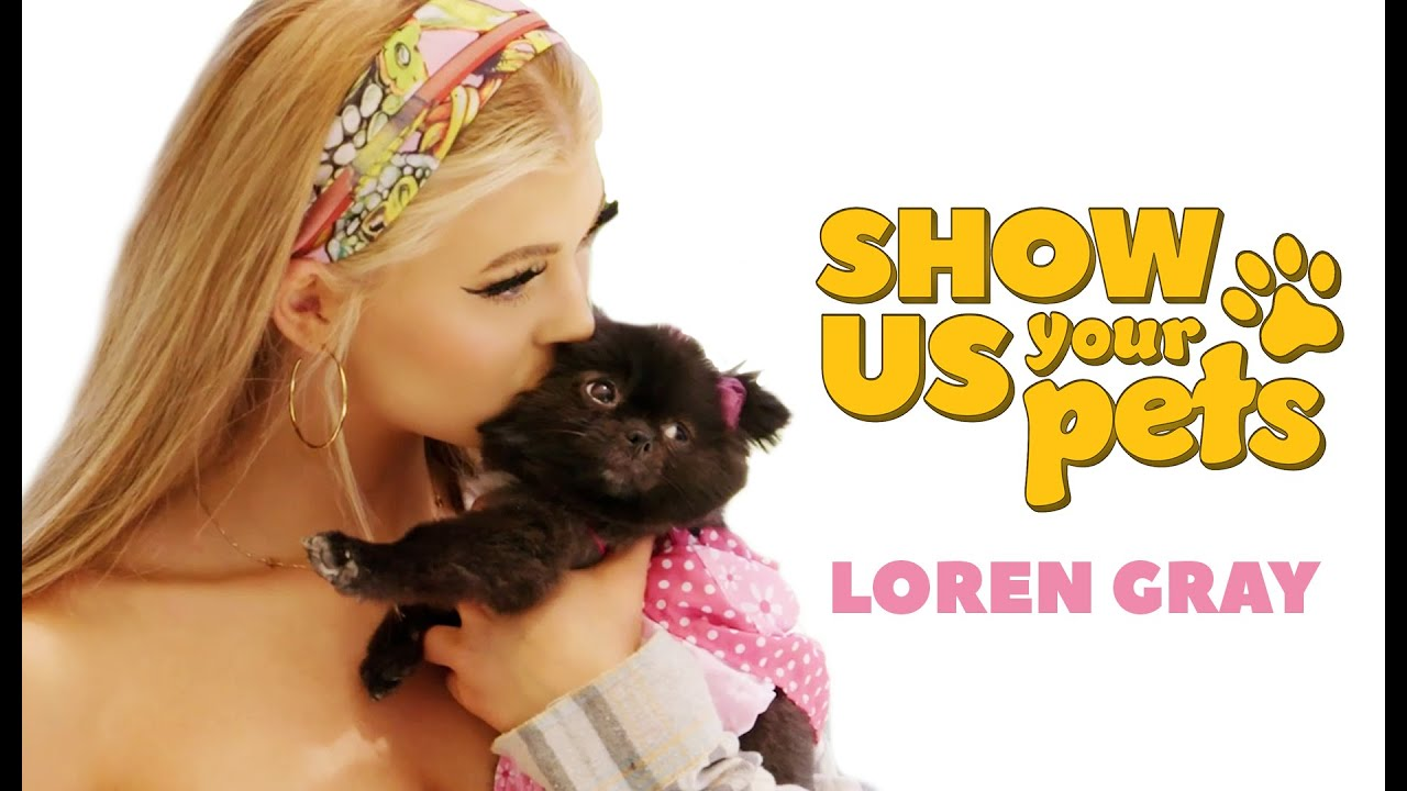 Loren Gray Introduces Her Pets!   Show Us Your Pets