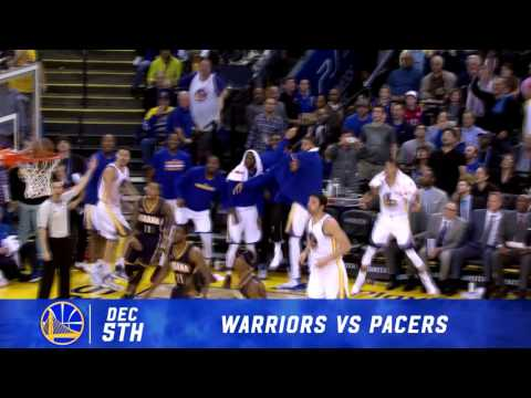 2016-17 Dubs Top Moments: Klay Lets Loose against Indiana
