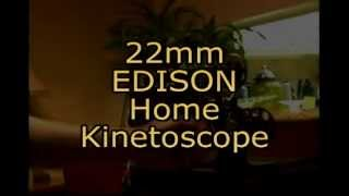 1912 Edison Home Kinetoscope in action