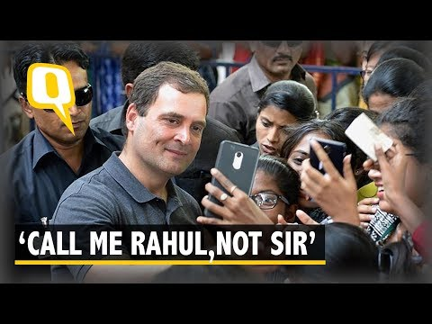 'Call Me Rahul': Congress President Wins Hearts at Chennai College | The Quint