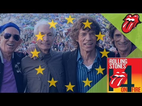 The Rolling Stones - 14 ON FIRE - Europe - Thank you! Thumbnail image