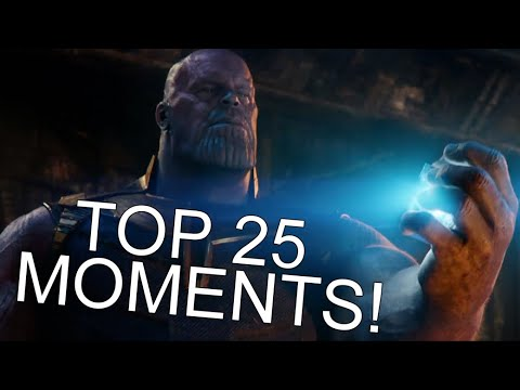 The Top 25 Moments From Avengers: Infinity War! (SPOILER REVIEW)