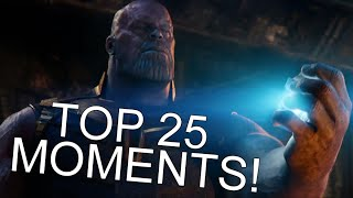 The Top 25 Moments From Avengers: Infinity War! (REVIEW)