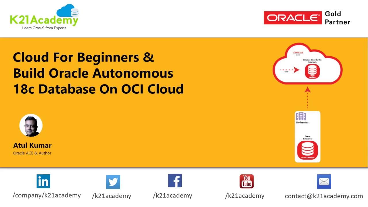Build Oracle 18c Database on OCI Cloud Part 1