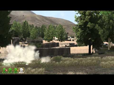 Morning Patrol through Takistan in the Marine Corps - Arma 2