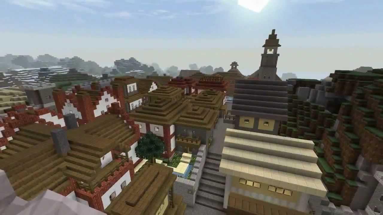 Mittelalter Stadt