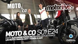 Video MOTO & CO S01E24 - Motos Yamaha 2017 + Honda X-ADV download MP3, 3GP, MP4, WEBM, AVI, FLV Desember 2017