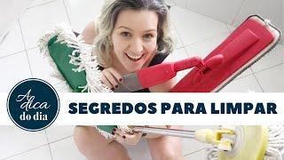 TOP 10 DICAS DE LIMPEZA
