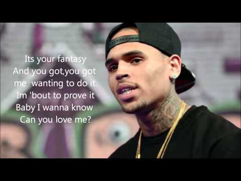 Chris Brown-Fantasy 2 feat. Ludacris (Lyrics)