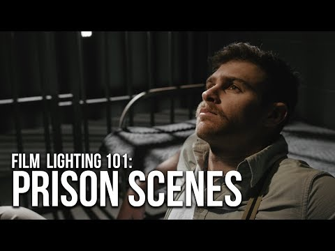 HOW To Film a Jail Scene | 3 Lighting Setups