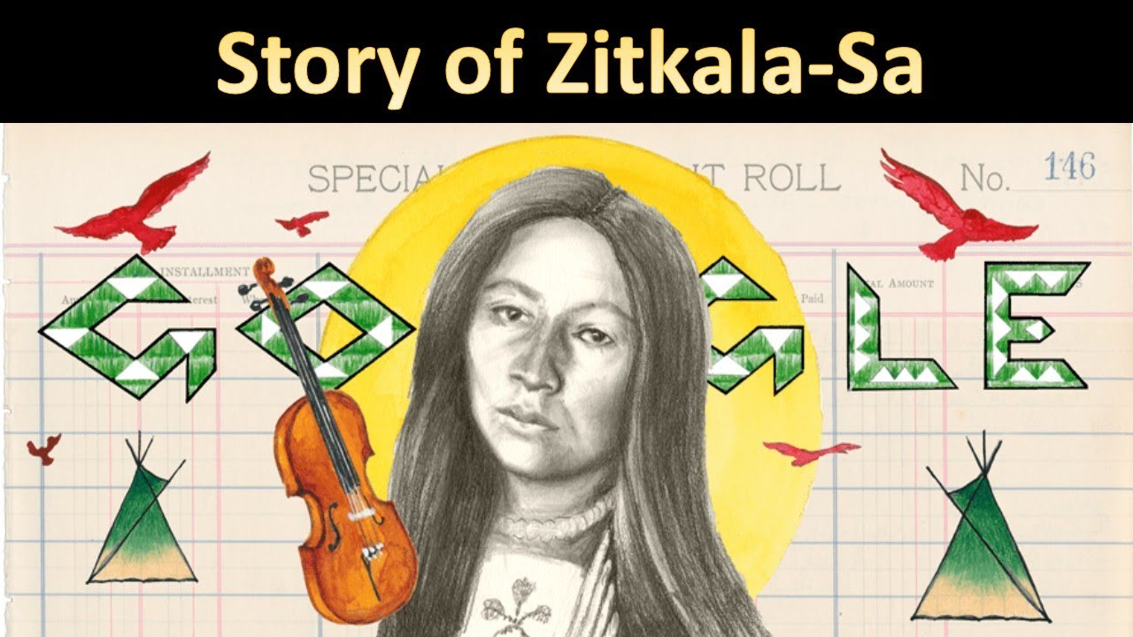 Google Doodle honors Zitkala-Sa, American Indian composer and ...