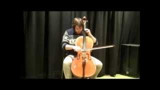 Bach Cello Suite in G - Minuets I & II