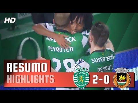 Resumo: Sporting 2-0 Rio Ave (Liga 27ªJ)