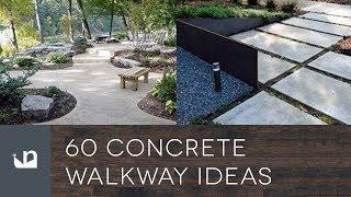 Gambar cover 60 Concrete Walkway Ideas