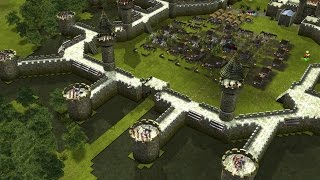 Stronghold Legends Steam Edition - BUILDING THE CAMELOT CASTLE