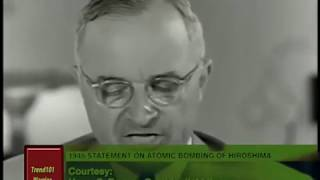 Trump Fire & Fury Remarks Appear Based on Truman's A-Bomb Announcement