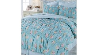 Cottage Collection Rose Bouquet Cotton Comforter Set
