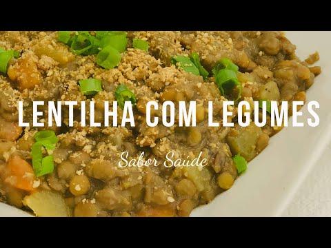 Lentilha com Legumes   Sabor Saúde   Melissa Barcelos
