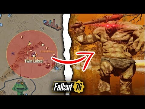 Fallout 76 | What Happens if You Nuke the Twin Lakes Location? (Secret Behemoth) thumbnail