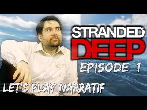 (Let's play Narratif) Stranded Deep - Episode 1 - Belle île en mer