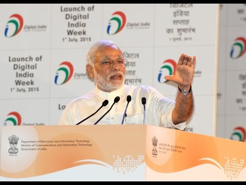 PM Modi's speech at the launch of Digital India Week
