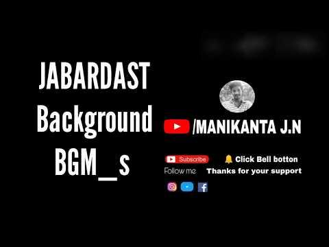 Jabardasth funny background BGM_S
