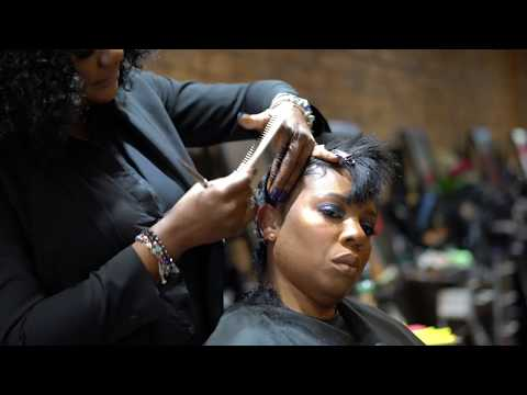 Transformation   Gillian Garcia Signature Pixie Cut on Texturized Hair