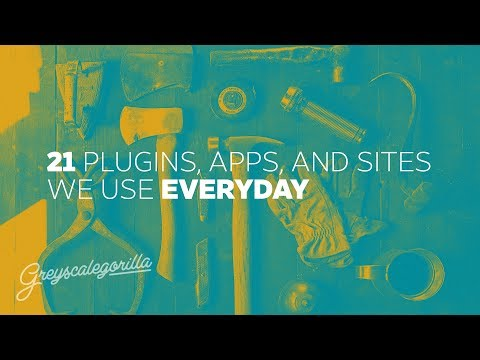 "Greyscalegorilla Podcast Ep. 88 ""21 Plugins, Apps, and Sites We Use Every day"""