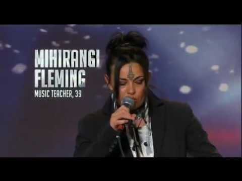 """NZ's Got Talent 2012 - Mihirangi Fleming """"No War"""""""