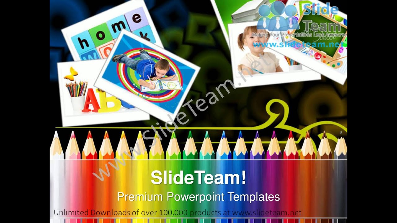 Teaching Strategies Education Powerpoint Templates Ppt Themes 0912