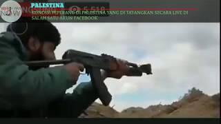 Video PERANG MELAWAN ZIONIS ISRAEL (Real war in Palestine against Israeli zionis) download MP3, 3GP, MP4, WEBM, AVI, FLV September 2018