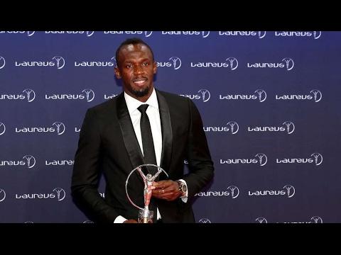 Usain Bolt recibió el Premio Laureus al mejor deportista de 2016