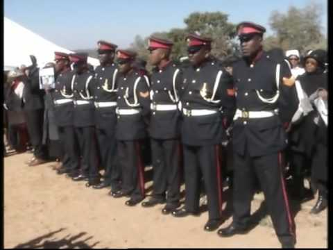 FUNERAL PROGRAMME OF FORMER PRESIDENT OF THE REPUBLIC OF BOTSWANA SIR KETUMILE MASIRE (Part 12)