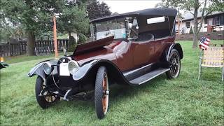 A Walk About A 1916 Buick At the 2018 Northeast PA All Buick Regional
