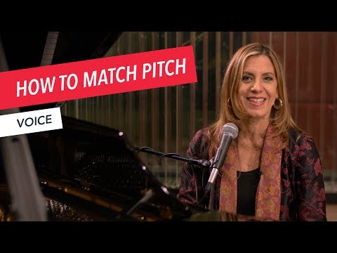 Voice Techniques: How to Match Pitch | Singing | Vocals | Voice