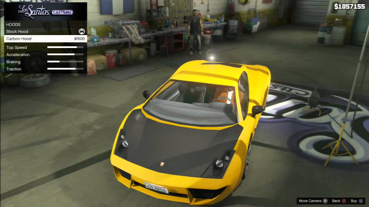 Gta 5 Vacca Lamborghini Gallardo Car Tuning Customization Gta V