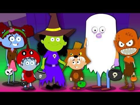 trick or treat happy halloween song scary rhyme for kids halloween music for babies