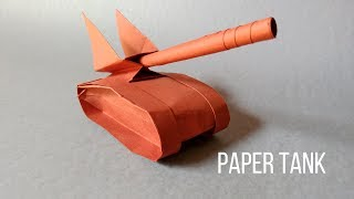 How To Make a Paper Tank | Origami Tank | InnoVatioNizer