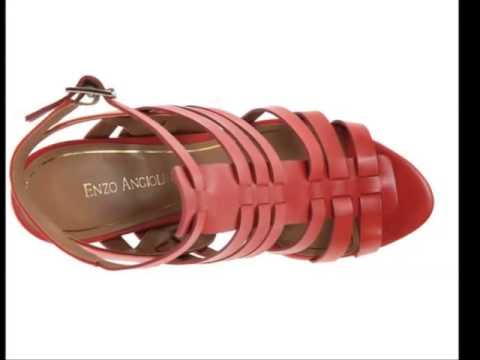0bc7a57124e1 Enzo Angiolini Women s Vanhi Wedge Sandal Review - YouTube