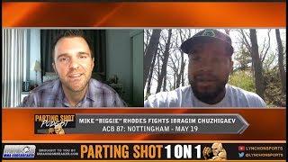 "UFC veteran Mike ""Biggie"" Rhodes talks May 19 ACB debut against Ibragim Chuzhigaev"