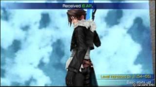 Dissidia: Final Fantasy - Squall Vs Tidus (English)